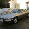 D53UNU - Jaguar XJS V12 coupé 1986 : This nice example in Silver Birch paintwork came in for KWE suspension/brakes/steering, power enhancement, rust protection and a host of medium and minor repairs. Feb 2013